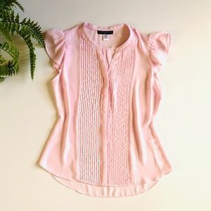 Simply Styled Pink Pleated Blouse SP